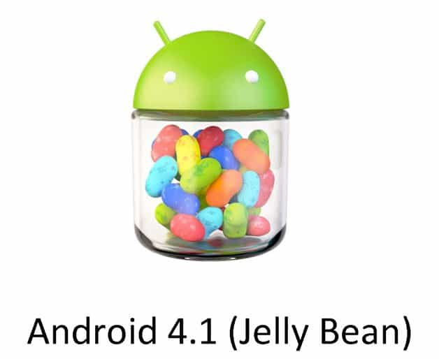 Android 4.1, 4.2, 4.3 Jelly Bean
